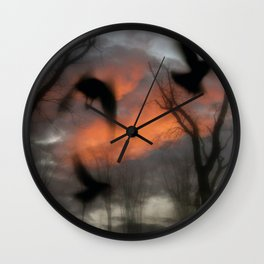 The Spirit Keepers Wall Clock