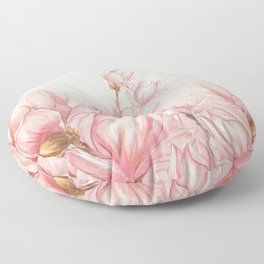 Vintage Garden (Magnolia Passion) Floor Pillow