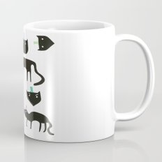 Little cats in colourful hats Mug
