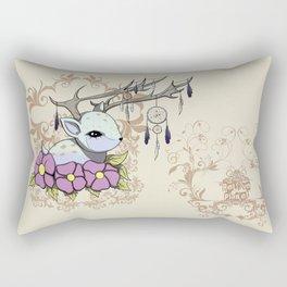 Dreamcatcher Fawn Rectangular Pillow
