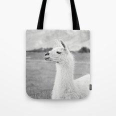 Mountain Llama Tote Bag