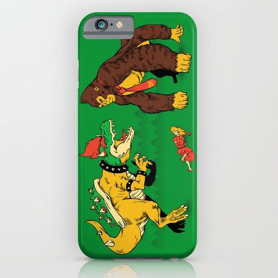 Boss vs Kong iPhone & iPod Case