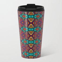 Boho Geometric Pattern 12 Travel Mug