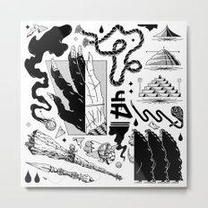 Seance Metal Print