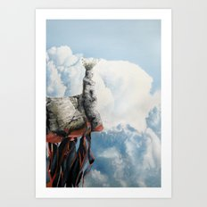 Day of the rice God Art Print