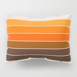 Golden Spring Stripes Pillow Sham