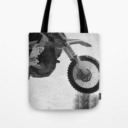 Motocross Dirt-Bike Racer Tote Bag