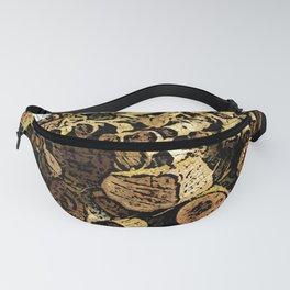Wood Pile bywhacky Fanny Pack