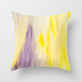 Radiant Abstract Throw Pillow