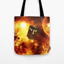 Tardis Space Tote Bag