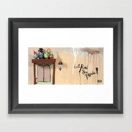Don't Rain Framed Art Print