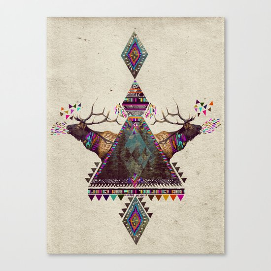 VOICES OF THE FOREST Canvas Print
