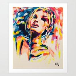 brigitte Art Print