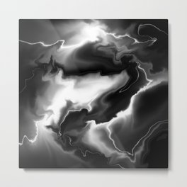Feel the thunder Metal Print