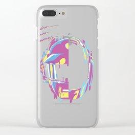 Daft Punk - RAM Remix Clear iPhone Case