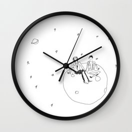 Once in a lifetime Wall Clock
