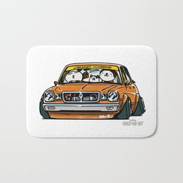 Crazy Car Art 0146 Bath Mat