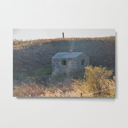Stone Natural Spring House, ND 1 Metal Print