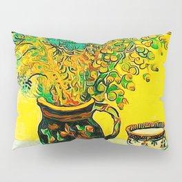 Van Gogh, Majolica with Wildflowers Pillow Sham