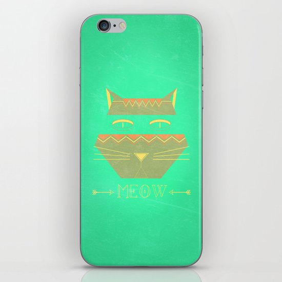 almost in cognito meow iPhone & iPod Skin