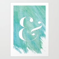 AND Art Print