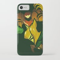 samus iPhone & iPod Cases featuring SAMUS by Jemma Salume