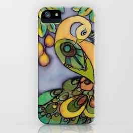 Mango Peacock iPhone Case