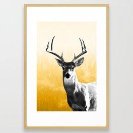 Deer Art Print Framed Art Print