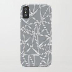 Ab Blocks Grey #2 iPhone X Slim Case