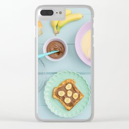 Fench toast breakfast Clear iPhone Case