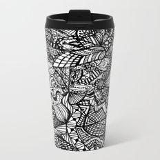 Doodle 5 Metal Travel Mug