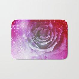 Digital Rose of Cosmos Bath Mat