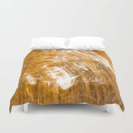 Golden Banshee Forest Duvet Cover