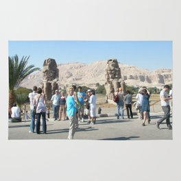The Clossi of memnon at Luxor, Egypt, 3 Rug