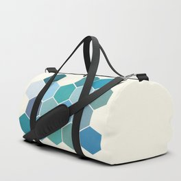Shades of Blue Duffle Bag