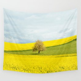 One Tree Hill landscape photograph Wall Tapestry