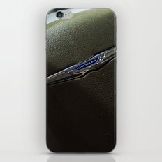 Chrysler Town & Country Limited Steering Wheel iPhone & iPod Skin