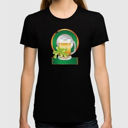 Beer and clover T-shirt