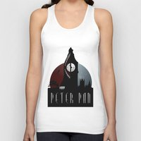 peter pan Tank Tops featuring Peter Pan by Rowan Stocks-Moore