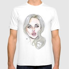 Lindsay By Lucas David 2015 Mens Fitted Tee MEDIUM White