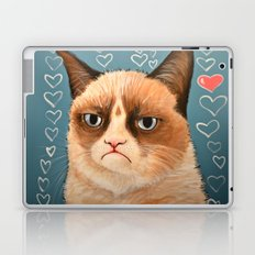 Grumpy Cat ... Love You Laptop & iPad Skin