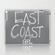 East Coast, Girl. Laptop & iPad Skin