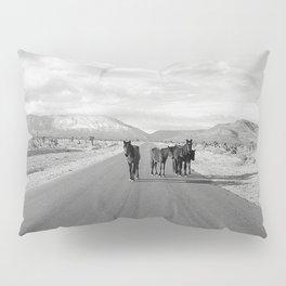 Spring Mountain Wild Horses Pillow Sham