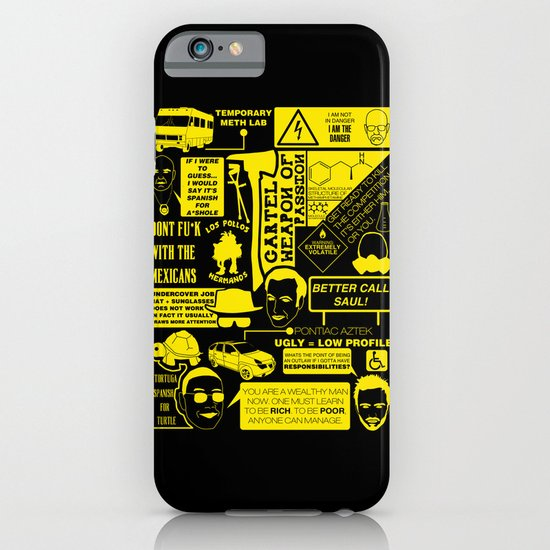 Breaking Bad world iPhone & iPod Case