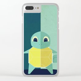 Squirtle PokemonGo Minimalistic Clear iPhone Case