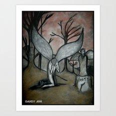 Faithless Art Print
