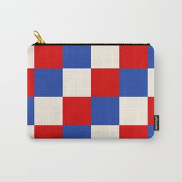 Trendy Lifestyle Checker Manes Carry-All Pouch