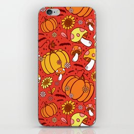 Psychedelic Fall iPhone Skin