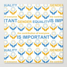 Gender Equality_09 by Victoria Deregus Canvas Print
