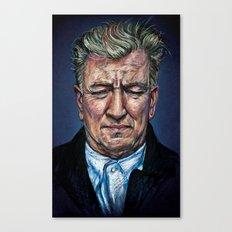 Change Begins Within - David Lynch Portrait Canvas Print